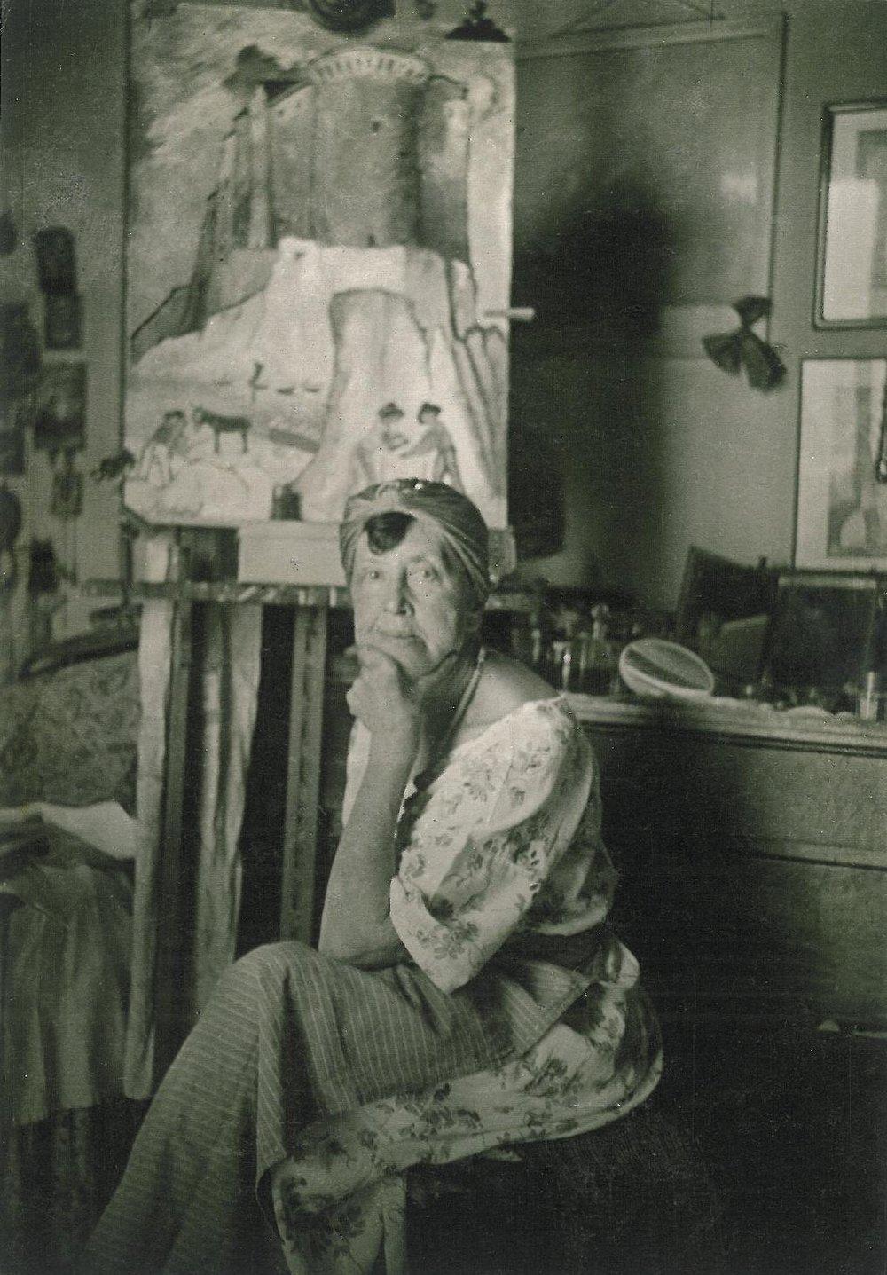 Marianne von Werefkin Born: September 10, 1860 Died: February 6, 1938
