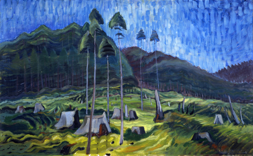Emily Carr Odds and Ends, 1939 67.4 x 109.5 cm il on Canvas