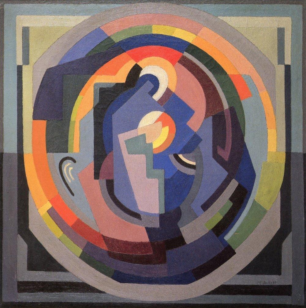 Mainie Jellett Abstract Composition,1937 76 X 76 cm Oil on canvas