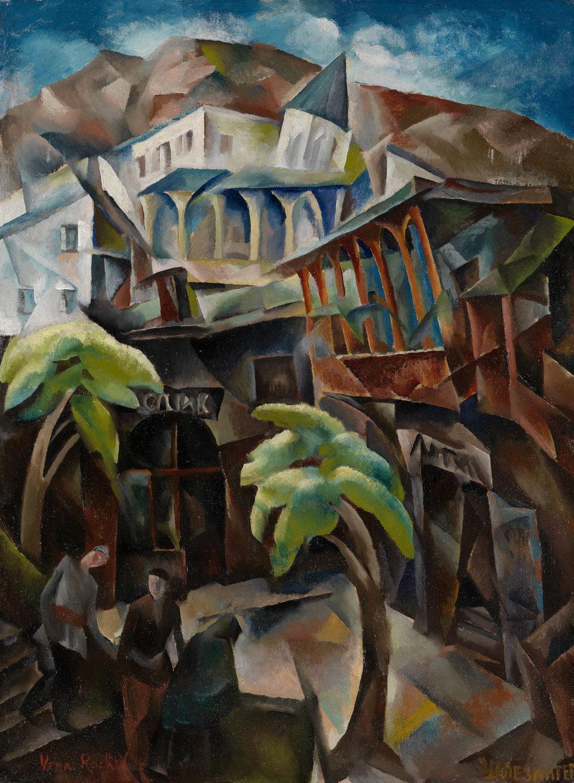 Vera Rockline Environs de Tiflis Oil on canvas