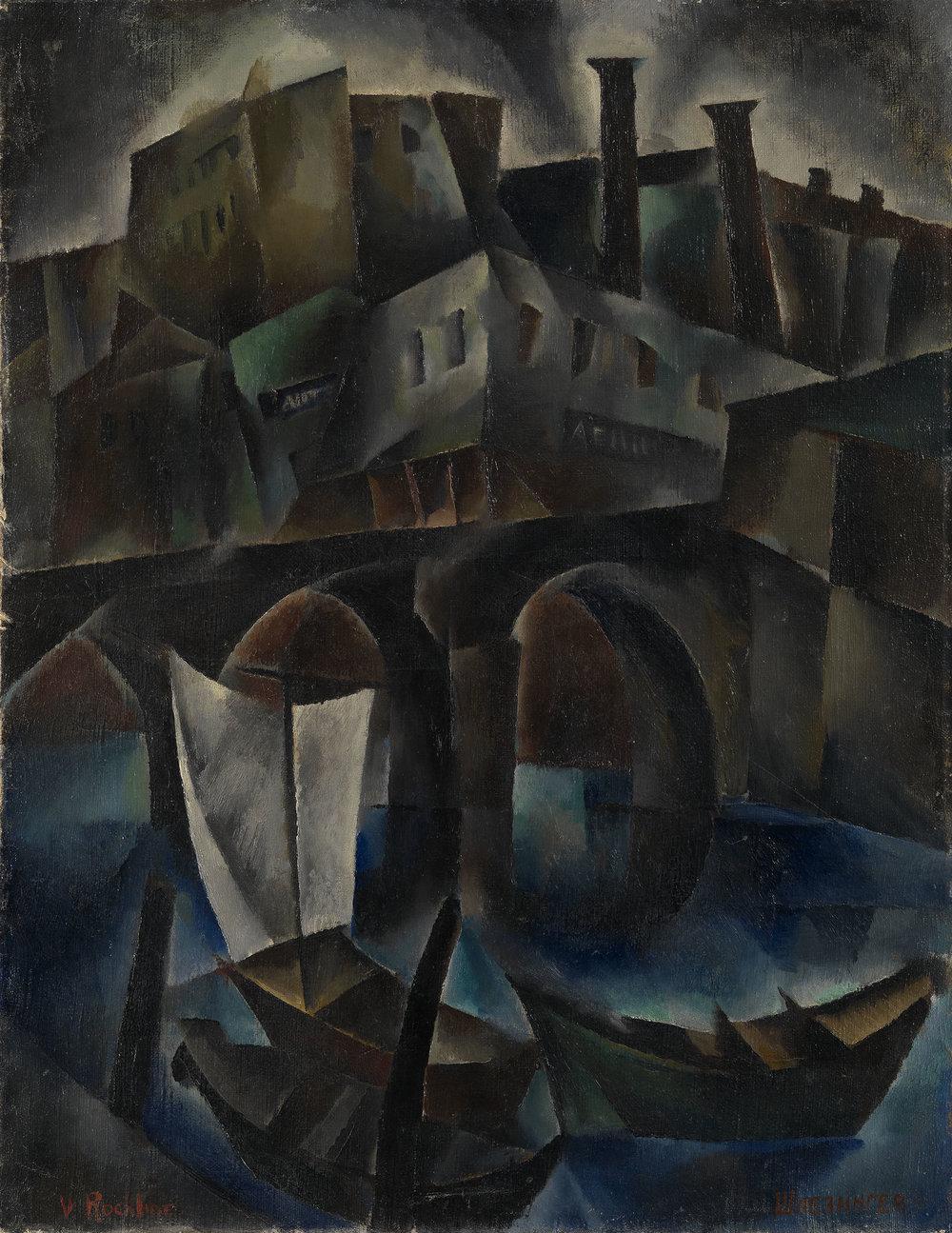 Vera Rockline Oil on canvas