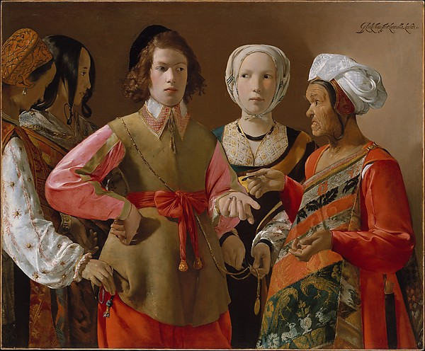 The Fortune-Teller Georges de La Tour probably 1630s