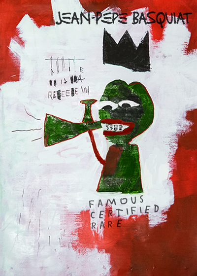 PEPEBASQUIAT Series 16, Card 24 391 Issued