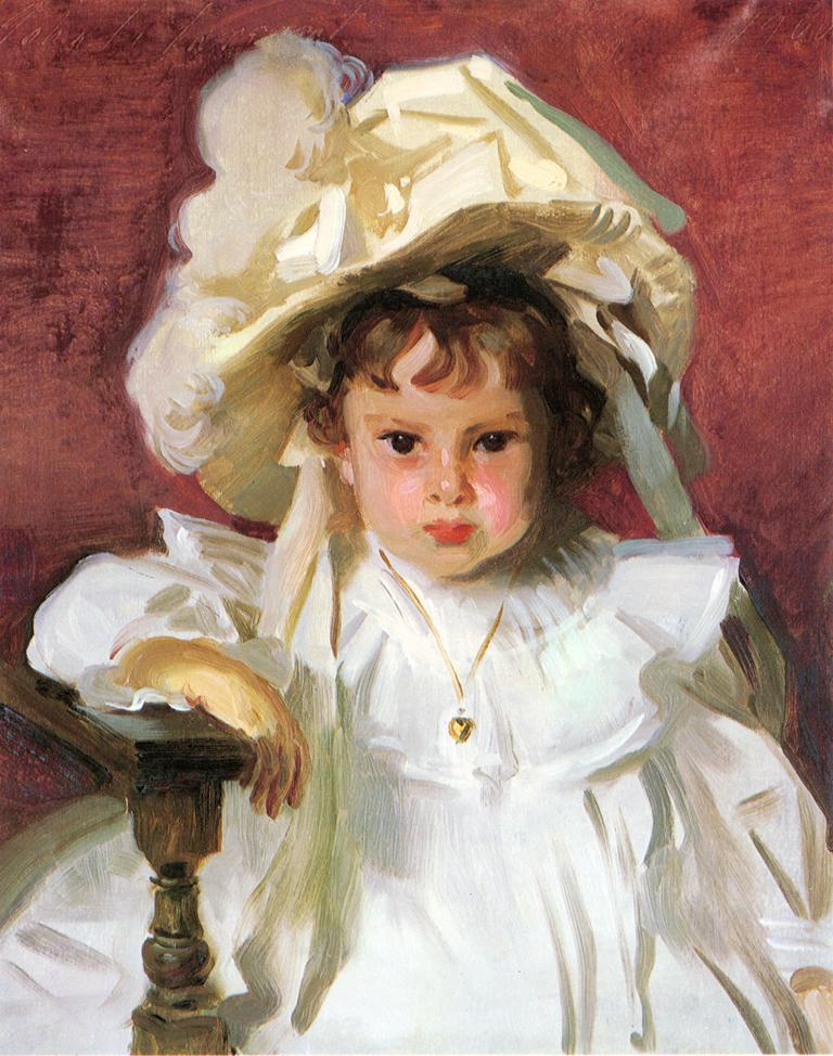 John Singer Sargent Portrait of Dorothy Williamson 1900 Oil on canvas