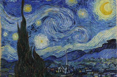 Vincent van Gogh The Starry Night June 1889, oil on canvas