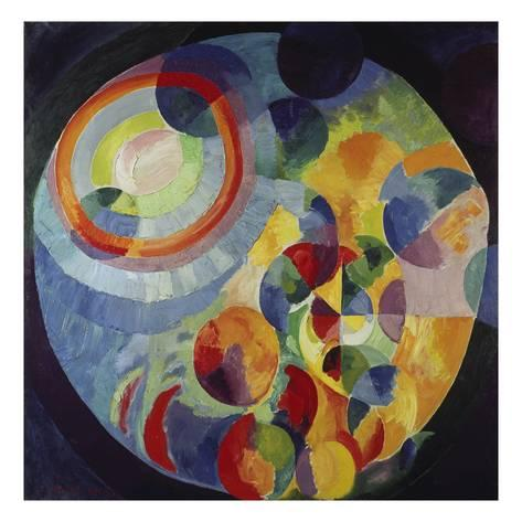 Circular Shapes Sun and Moon  - Robert Delaunay, 1912,1931