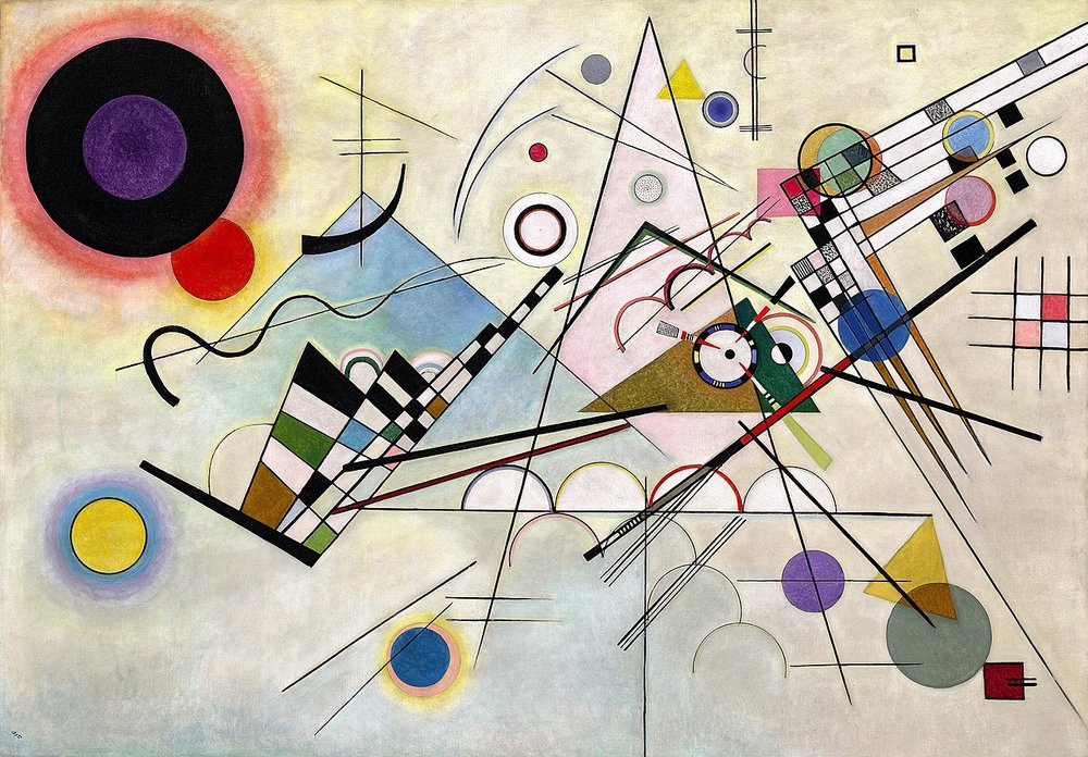 Composition 8  - Wassily Kandinsky, 1923
