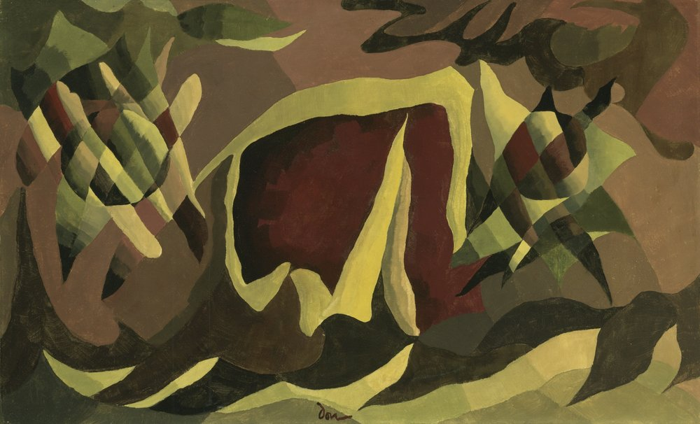 Lattice and Awning , Arthur Dove, 1941