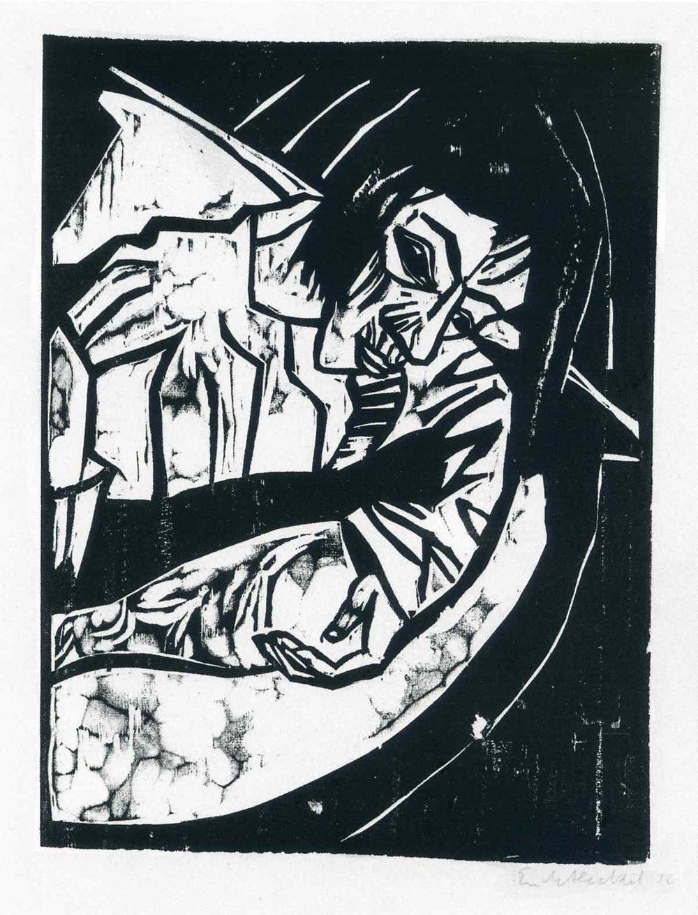 MÜDE,  Erich Heckle, 1913