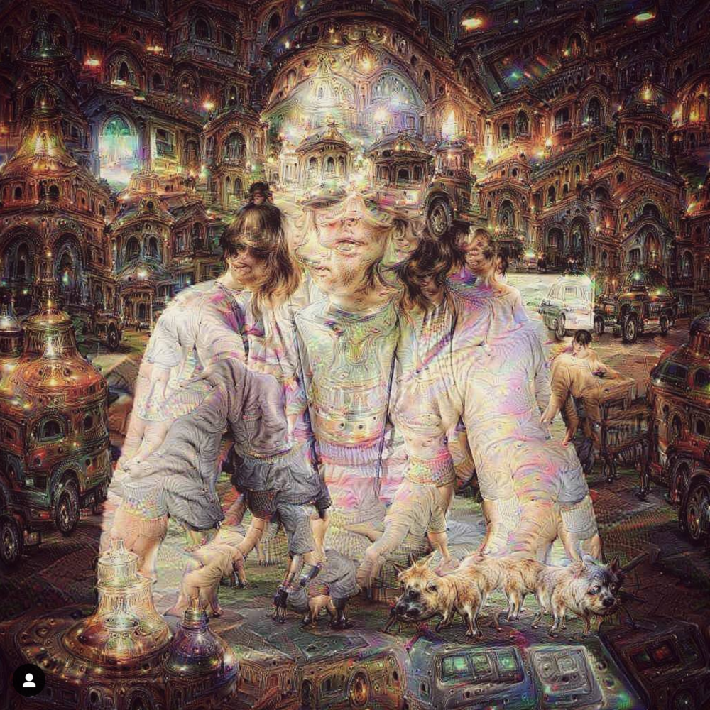 Image I made using a DeepDream app in August, just three months after it was invented by Alex Mordvintsev