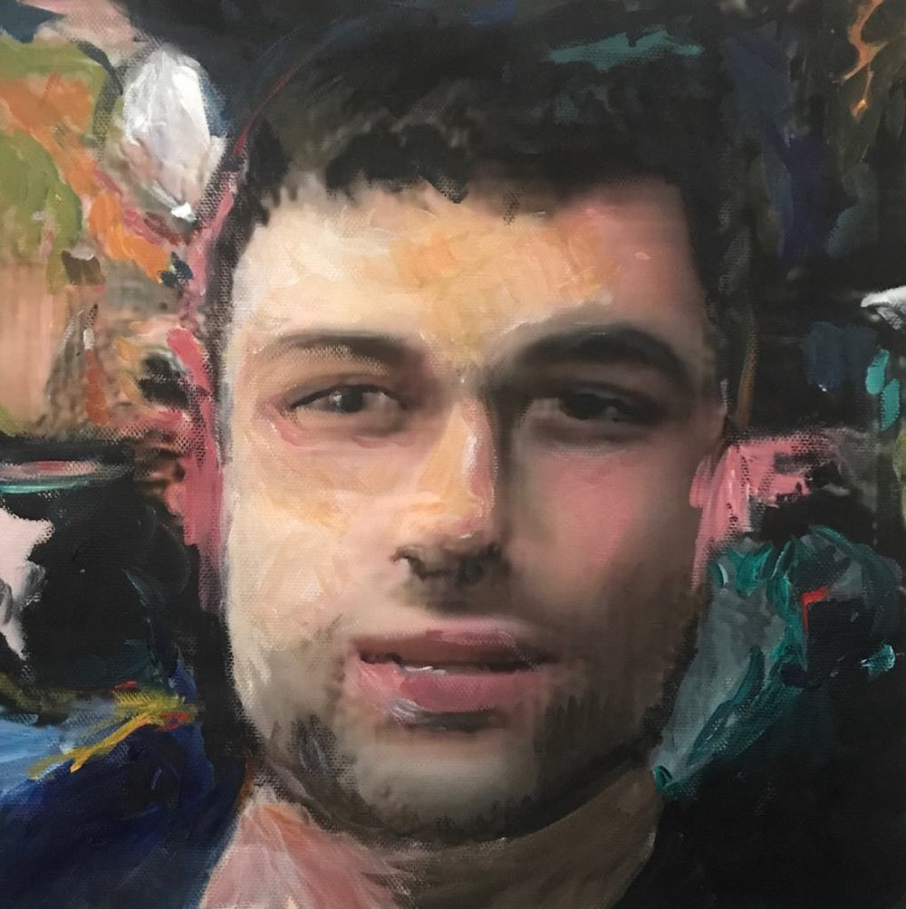 Self Portrait (now alive) , Liam Allul, 2018