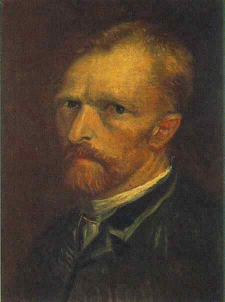 Self-Portrait,  Vincent Van Gogh, Paris, 1886