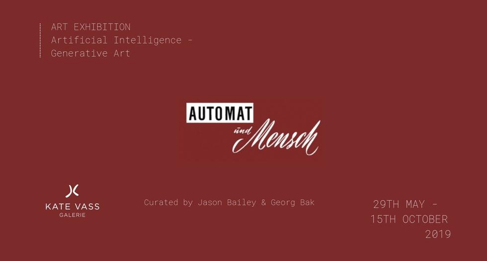 f6c9e5278171 Invitation for Automat Und Mensch (Man and Machine)