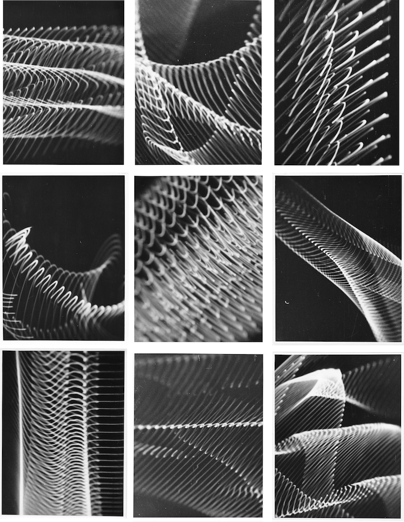 9 Analogue Graphics , Herbert W. Franke, 1956/'57