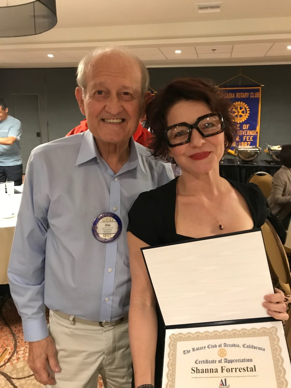Shanna Forrestall - Forrestall Consulting - Rotary Club of Arcadia