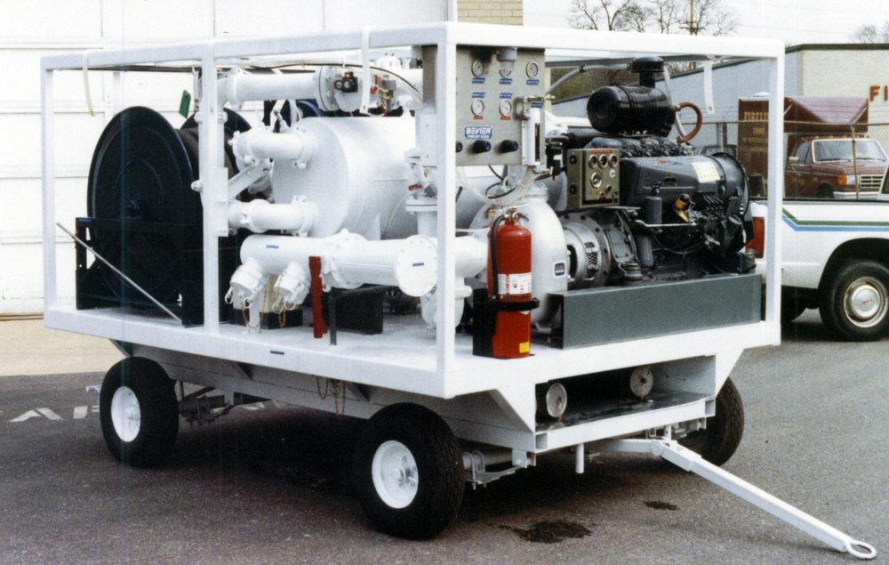 Flight Line Fuel Pumping Cart
