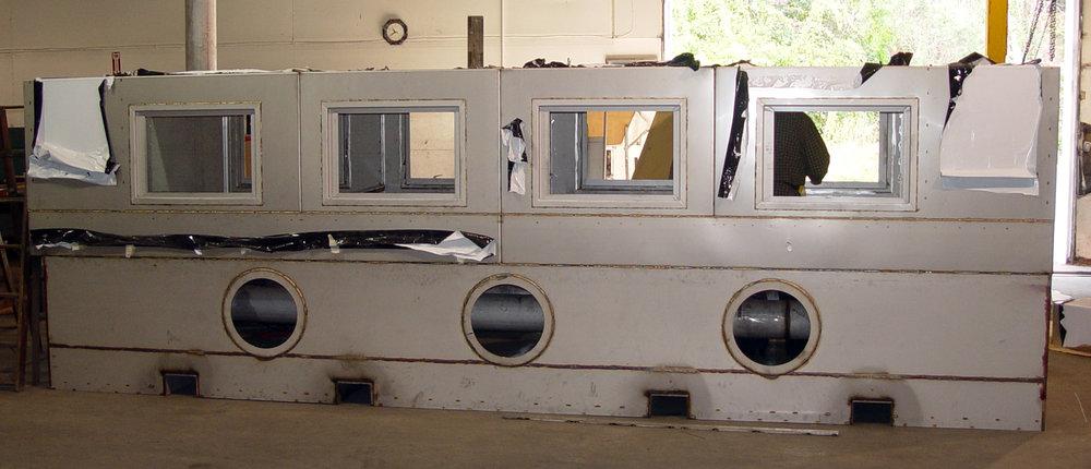 SS Conveyor Washer 40'x12'