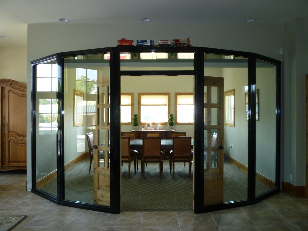 Glass Conference Room Enclosure