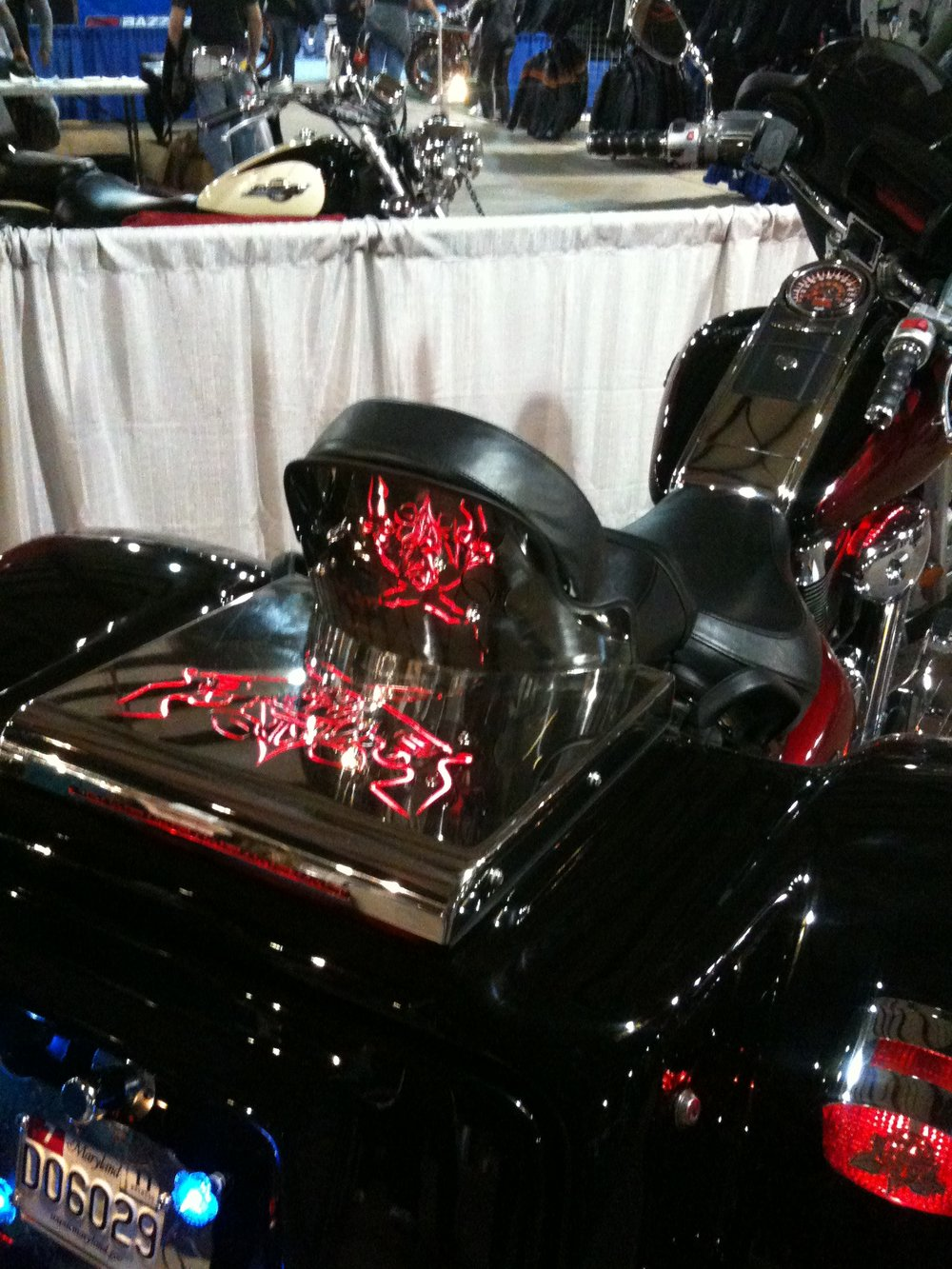 SS Artwork on Trike (3rd Place Mid-Atlantic Bike Show)