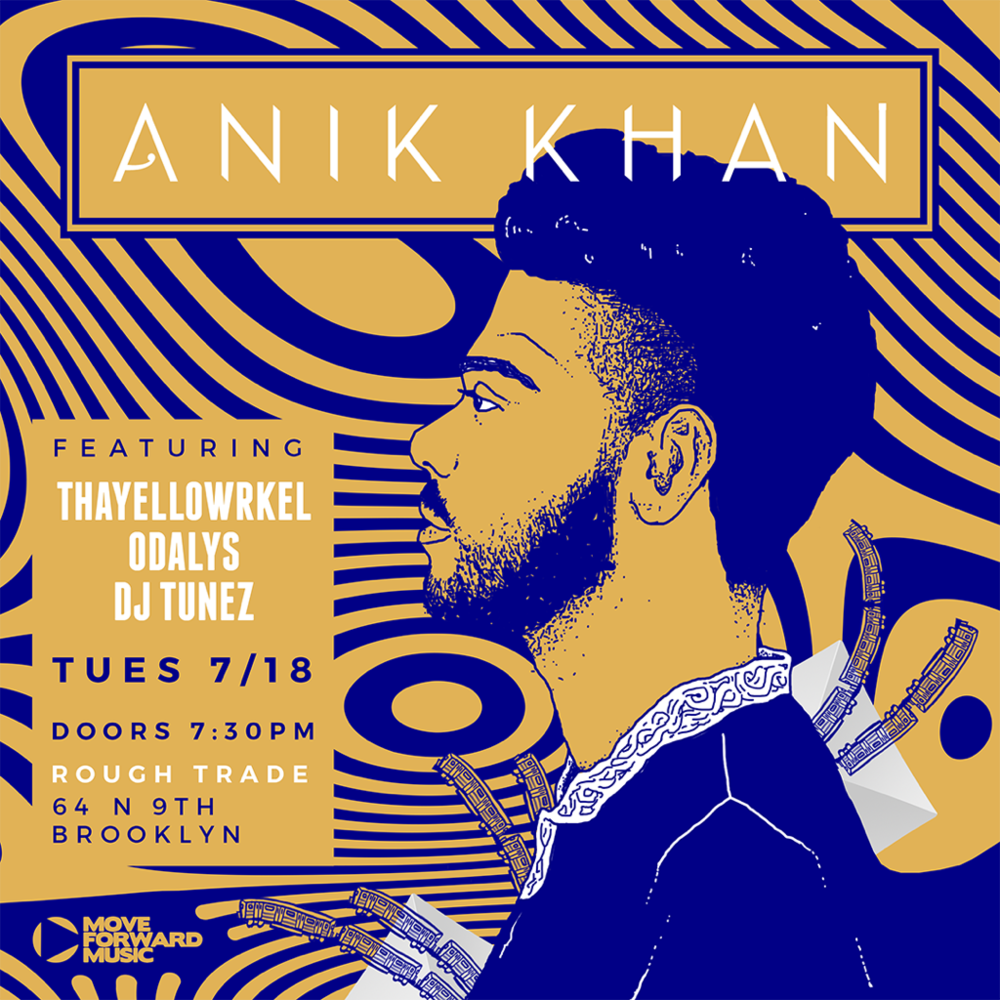 Anik Khan Live At Rough Trade NYC Featuring DJ Tunez