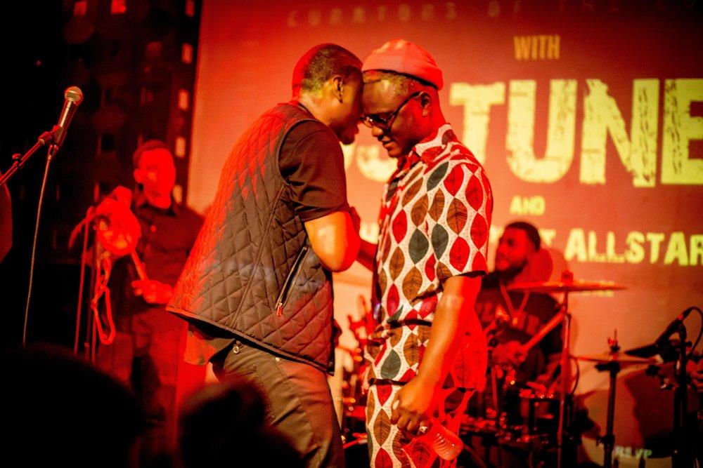 DJ Tunez and Moelogo