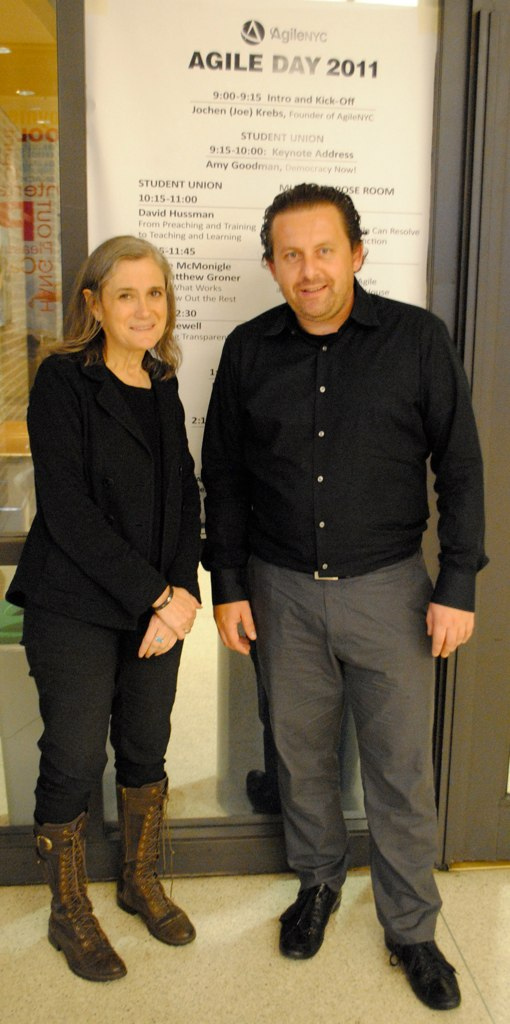 Amy Goodman (Democracy Now) and Joe Krebs