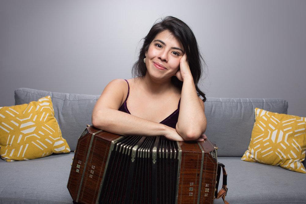 Heyni Solera, bandoneón