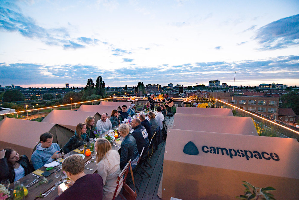 The rooftop of NEST on top of Hotel Casa turned their hotspot into an urban couples retreat.