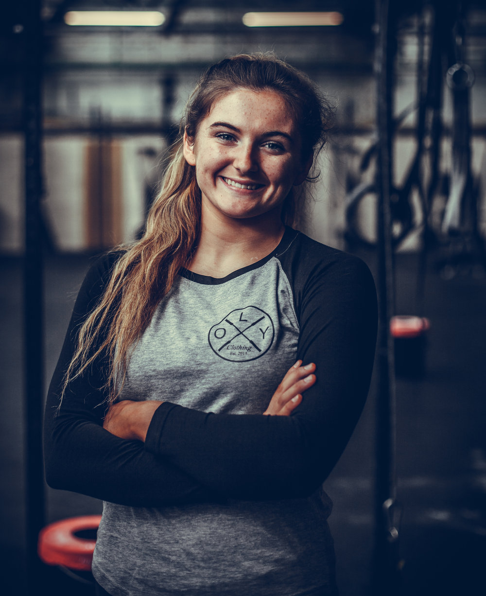 Zöe Kerr - Zoe has represented Ireland internationally in the sport of trampolining. After competing at the World Championships she decided to shift her focus to fitness competitions, notably the Crossfit Games in 2017.-In a year and a half Zoe has solidified herself as one of the best Female Teen athletes in the world. Having finished 35th worldwide, 1st in Central Europe and 1st the UK she narrowly missed going to the CrossFit Games in the 16/17 age category. Zoe has since qualified for the renowned WZA Competition in Miami where she hopes to bring home the goods.