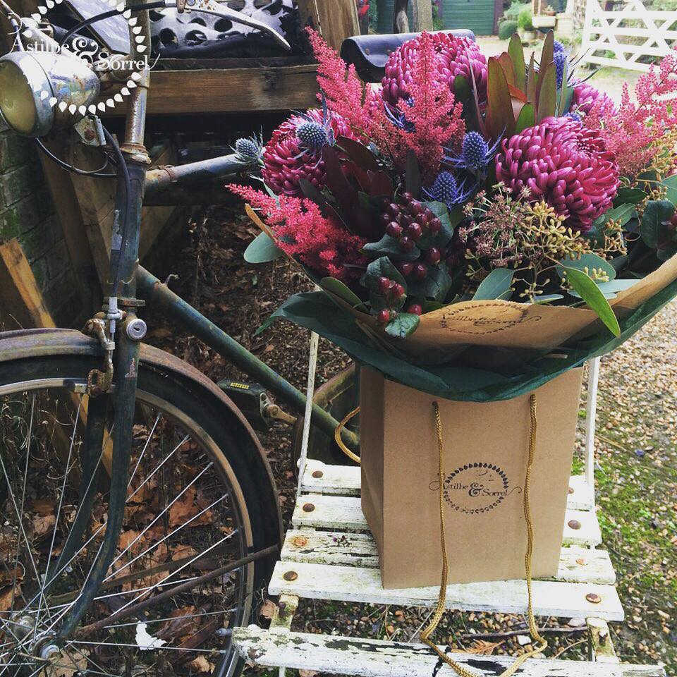 The Bike Bouquet.