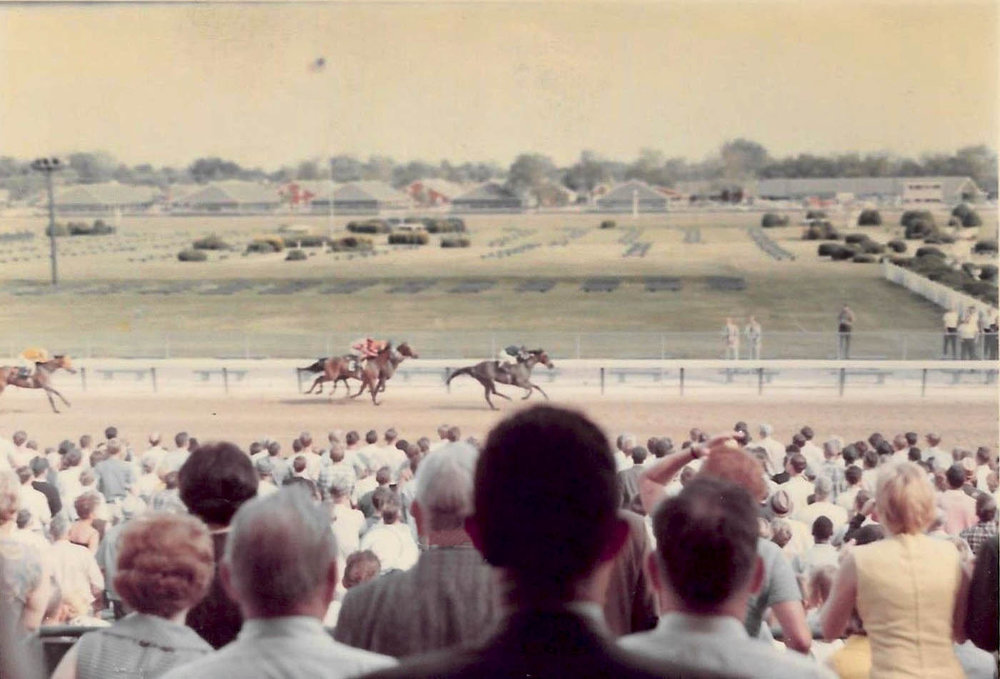 KY Derby Site-Churchill Downs Grandstands-Circa 1950s