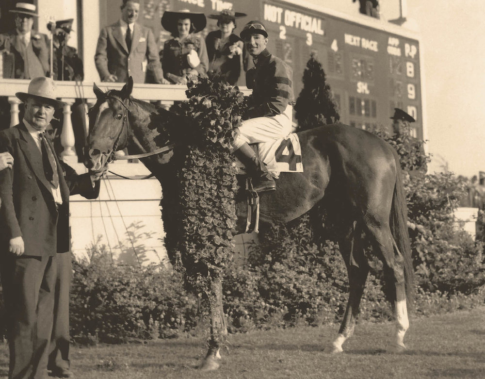 Whirlaway-1941 Winners Circle KYDerby - @Calumet Farm Bourbon Whiskey