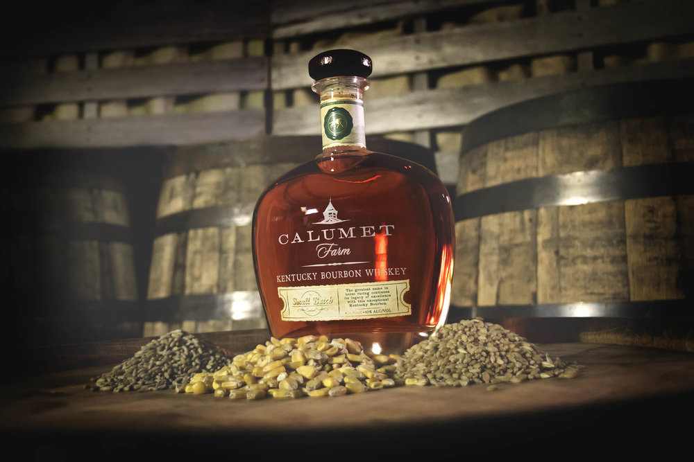 Small Batch with grains - @Calumet Farm Bourbon Whiskey