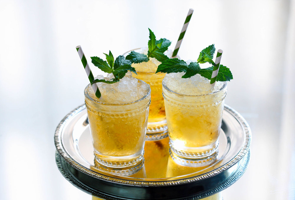 Mint Julep Cocktail - ©Calumet Farm Bourbon Whiskey