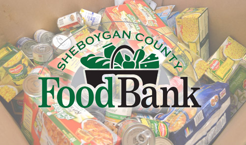 Giving back to the community... - We're teaming up with the Sheboygan County Food Bank to collect canned food at Brat Days! Donate three non-perishable items to receive $1 off parking in Kiwanis Park. We appreciate all donations, but are in the most need of: canned fruit (in 100% juice or its own juice), canned chicken, canned tuna, spaghetti sauce, and pasta. Please do not donate perishables.