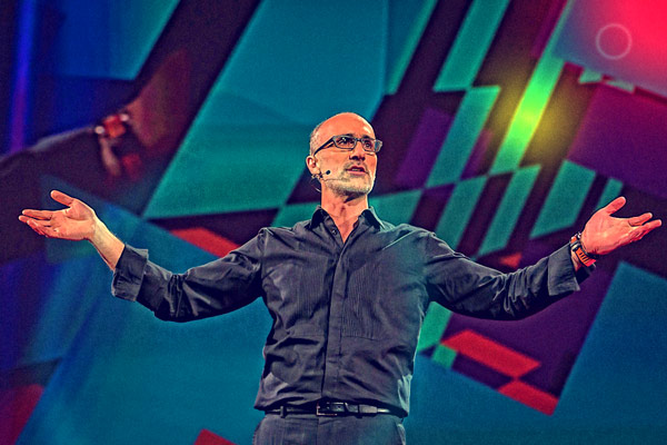 Click on picture to link to Arthur Brooks TED talk