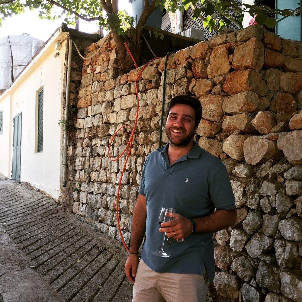 """Faouzi Issa AKA The """"Dusty Winemaker"""""""