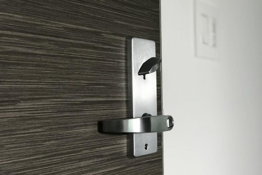 CONDO DOOR LEVER-SET INSTALLED BY LOCK-IQ