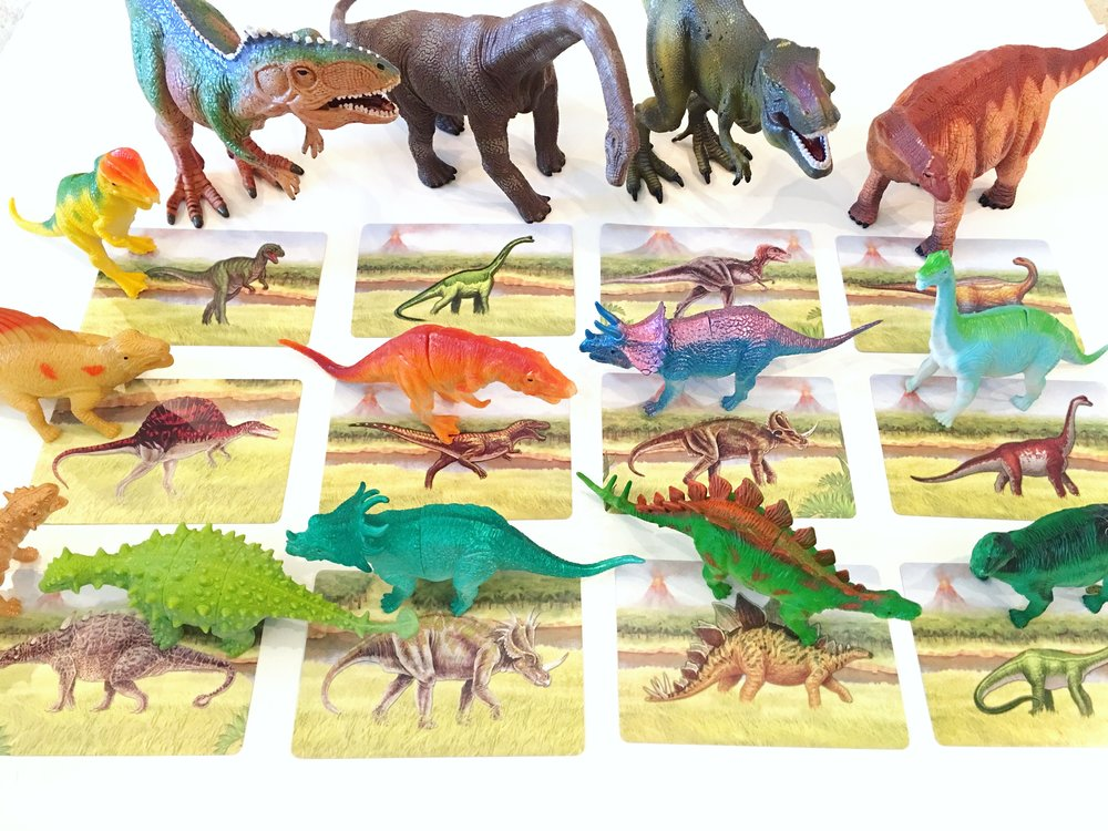 Dinosaur Matching Activity