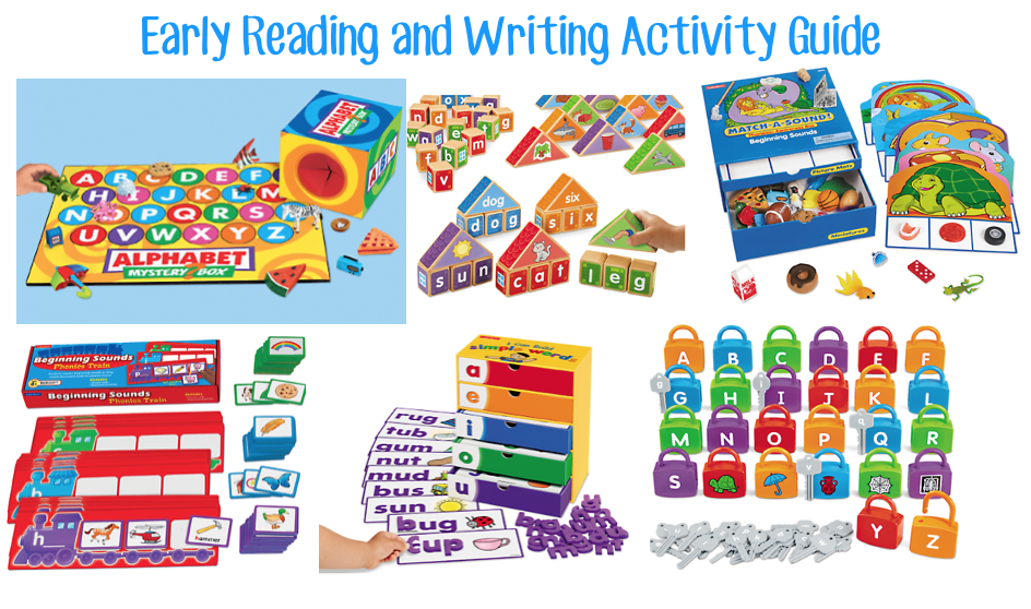 Early reading and writing activity guide