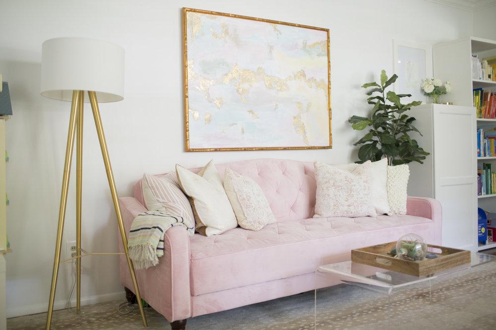 YWF playroom couch