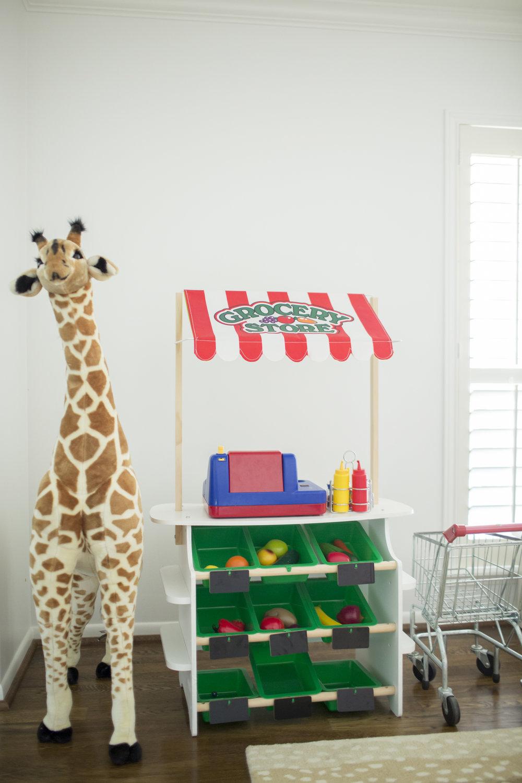 YWF playroom grocery store