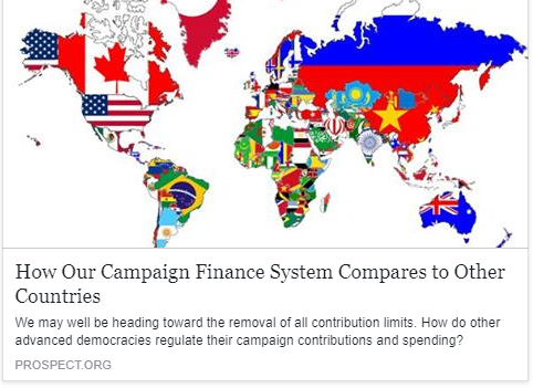 How Our Campaign Finance System Compares to Other Countries