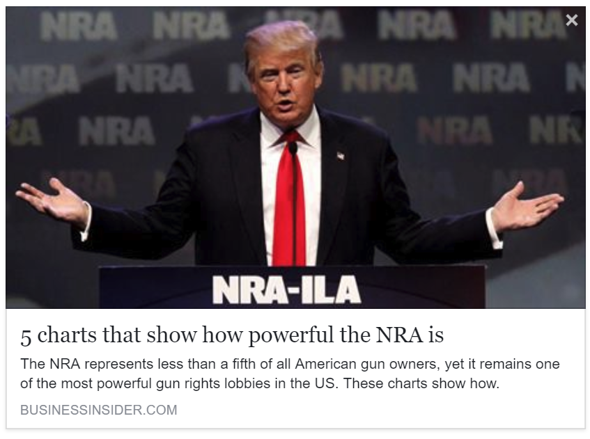 Business Insider - 5 charts that show how powerful the NRA is