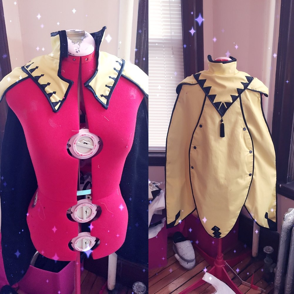 Ophelia (Fire Emblem: Fates) WIP - Cape    I finished Ophelia's cape last night!!!   I'm sorry for being so bad at updating - I was away at a business trip for 3wks and now the Anime Expo crunch is ON and I'm slowly dying. Please pray for me.