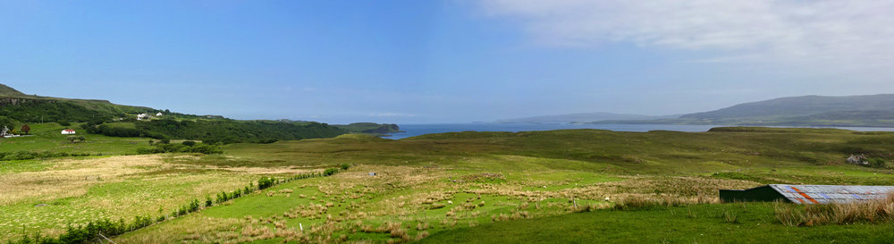 views to Loch Dunvegan
