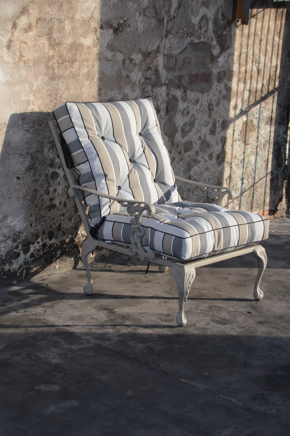 St tropez 1 seater lounger chair