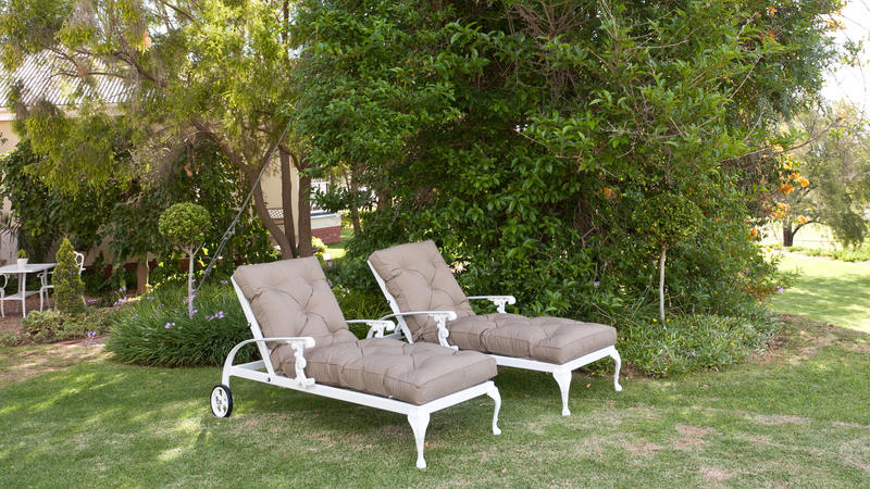 St Tropez sun loungers