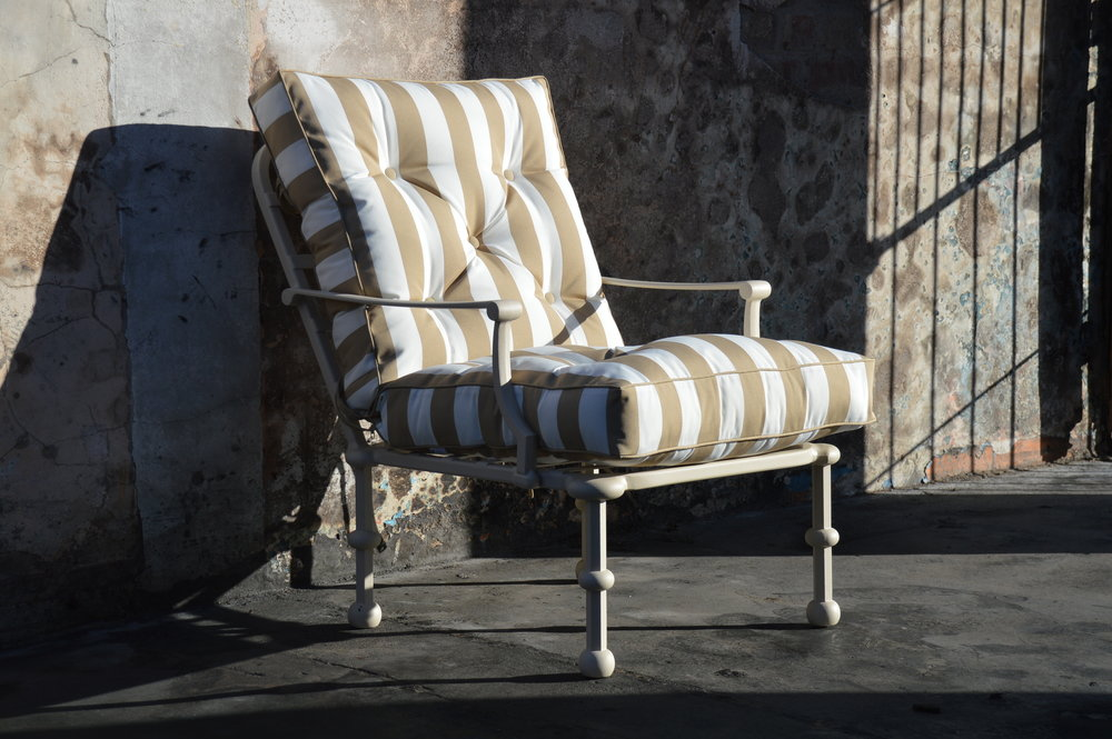 Majorca 1 seater lounger chair