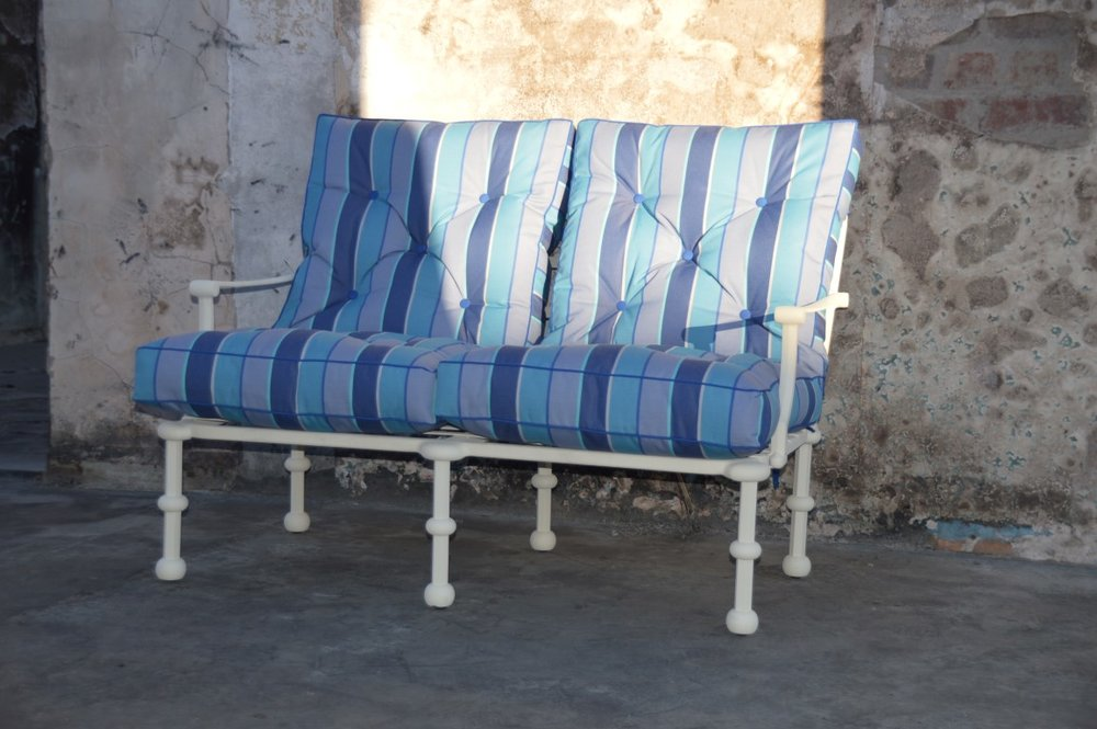 Majorca 2 seater lounger chair